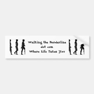 WTB Silhouette Bumper Sticker: Direct Blog Support Bumper Sticker