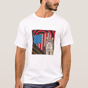 """WTC 7"" Black T-Shirt"
