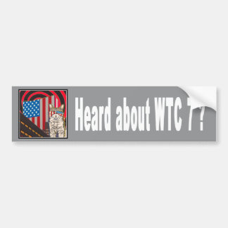 """WTC 7"" Bumper Sticker"