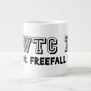WTC 7 Fell At Free Fall Speed Large Coffee Mug