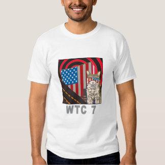"""""""WTC 7"""" Organic White T-Shirt"""