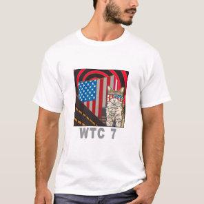 """WTC 7"" Organic Womens Tee Shirt"
