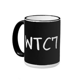 WTC 7 WTF? RINGER COFFEE MUG