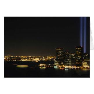 WTC Memorial Card