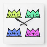 WtC Pop Art Clock