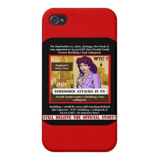 WTC que construye la caja de 7 Iphone iPhone 4/4S Fundas