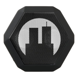 WTC Towers Black Bluetooth Speaker