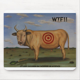 WTF[1], WTF!!, By Leah Saulnier on Facebook or ... Mouse Pad