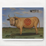 WTF[1], WTF!!, By Leah Saulnier on Facebook or ... Mousepad