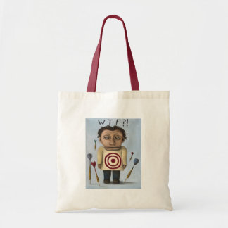 WTF?! 2 TOTE BAGS
