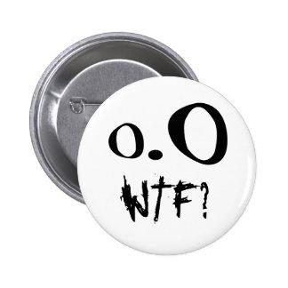 ¿WTF? - Botón Pin Redondo De 2 Pulgadas