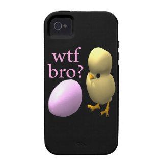 WTF Bro Case-Mate iPhone 4 Fundas