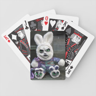 WTF Bunny Creature Playing Cards