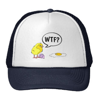 WTF Chick Trucker Hat