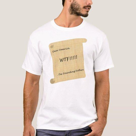¡WTF!!! de la camiseta de los fundadores