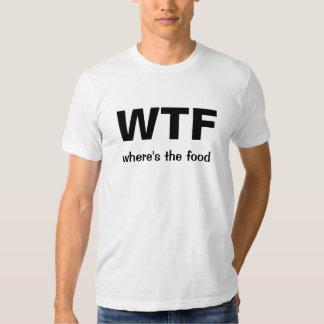 WTF (donde está la comida) Polera