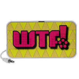 WTF! Doodle iPod Speaker