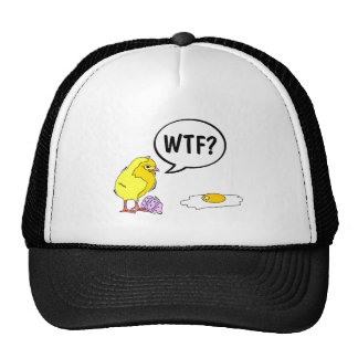 WTF Easter Chick Trucker Hat