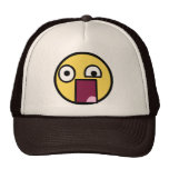 WTF Face Mesh Hats