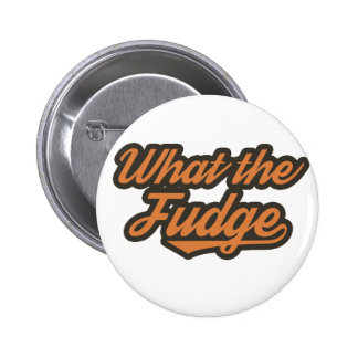 WTF Funny Pinback Button