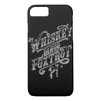 WTF funny vintage tattoo style quote drawing iPhone 8/7 Case