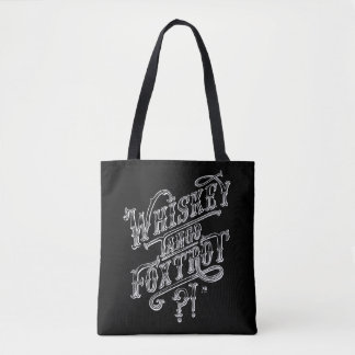 WTF funny vintage tattoo style quote drawing Tote Bag