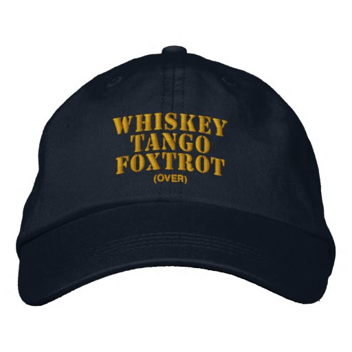 WTF, Over? Embroidered Baseball Cap