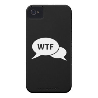 WTF Pictogram iPhone 4 Case