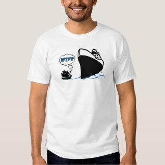 Wtf Pirate Ship T Shirt