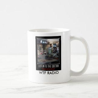 WTF RADIO coffee mug