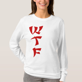 WTF Red Dragon ladies hoodie