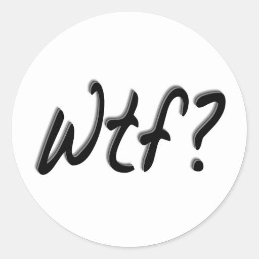 Wtf Stickers