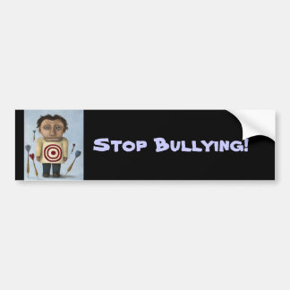 WTF?! Stop Bullying! Bumper Stickers