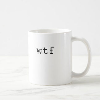 wtf taza de café