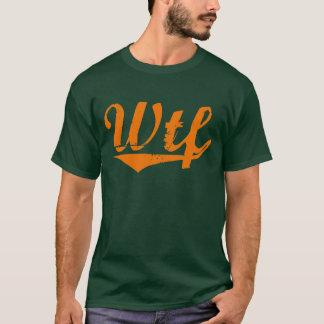 WTF Varsity Letters - Orange T-Shirt