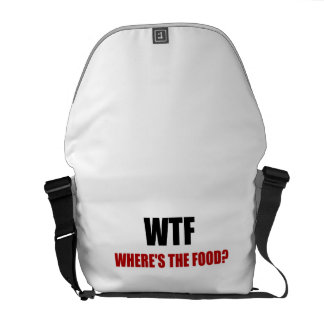 WTF Wheres The Food Courier Bag