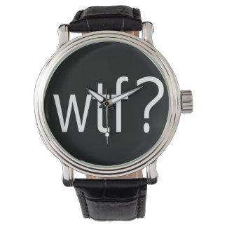 wtf? White Wrist Watches