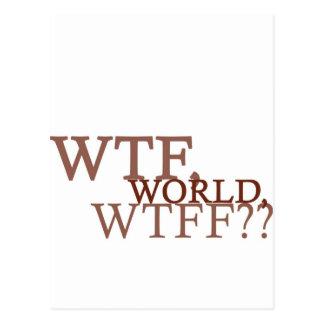 WTF World Postcard