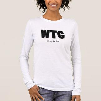 WTG way to go Long Sleeve T-Shirt