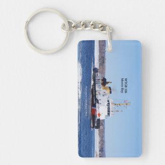 WTGB 106 Morro Bay rectangle acrylic key chain