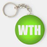 WTH Keychain
