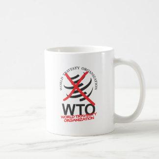WTO - Anti WTO - World Travesty Organization Coffee Mug
