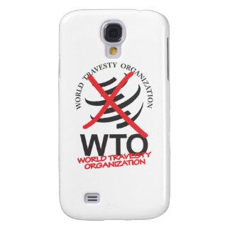 WTO - Anti WTO - World Travesty Organization Galaxy S4 Cover