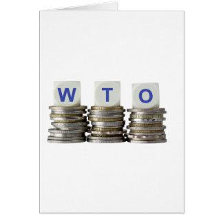 WTO - World Trade Organization Card