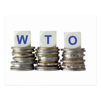 WTO - World Trade Organization Postcard