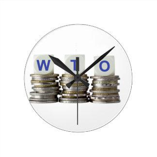 WTO - World Trade Organization Round Clock