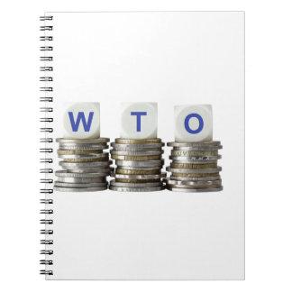 WTO - World Trade Organization Spiral Notebook