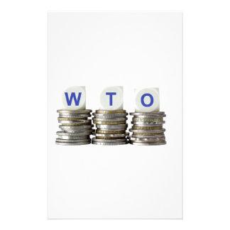 WTO - World Trade Organization Stationery