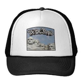 WTP Rushmore Black Mesh Hat