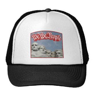 WTP Rushmore Red Trucker Hat
